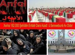 PAK: Enfal Şehitlerine en iyi müjde Güney Kürdistan'ın bağımsızlığıdır