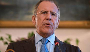 Lavrov: Suriye'ye saldırı yasadışı ve kabul edilemez