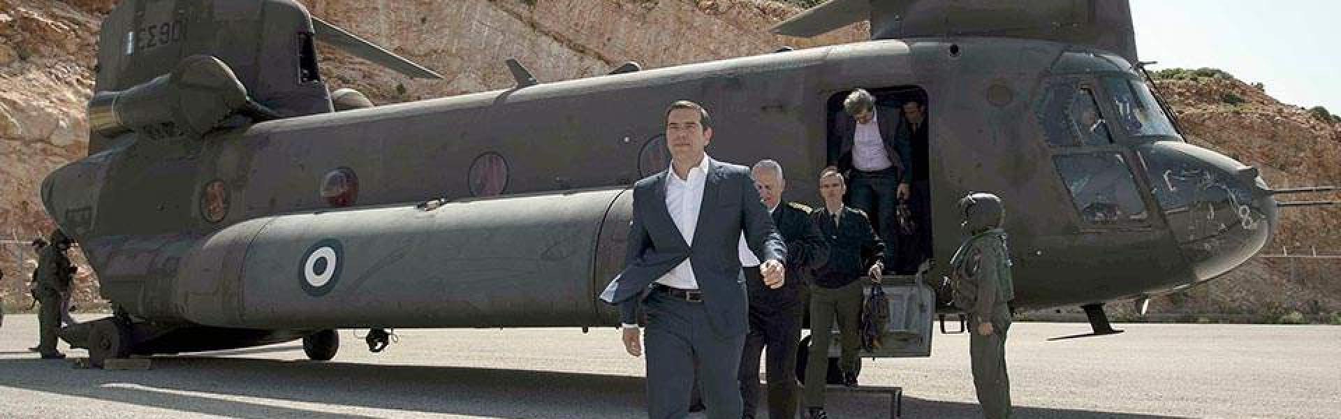Yunan Basını: İki Türk savaş uçağı Yunanistan Başbakanı'nı taşıyan helikopteri taciz etti