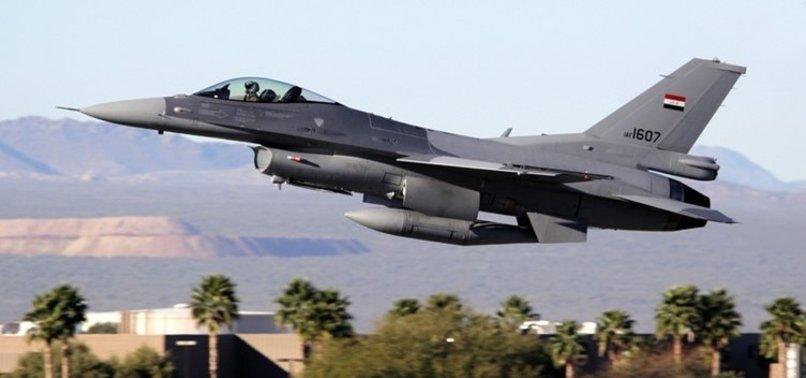 Irak savaş uçakları Suriye'de IŞİD'i vurdu