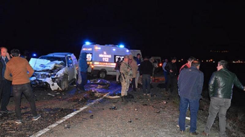 Ağrı'da kaza: 4 ölü, 3 yaralı