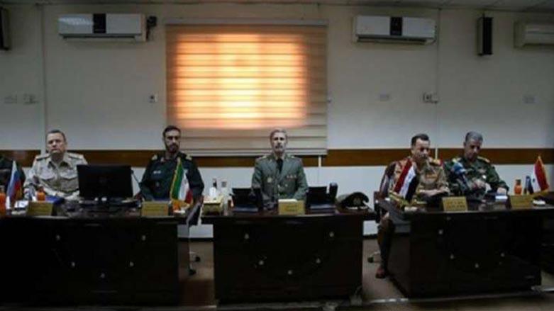 Rusya, İran, Suriye ve Irak askerleri Bağdat'ta toplandı