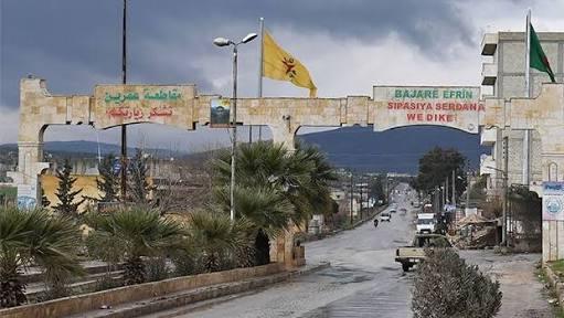Cihatçı aileleri Efrin'e yerleştirdiler