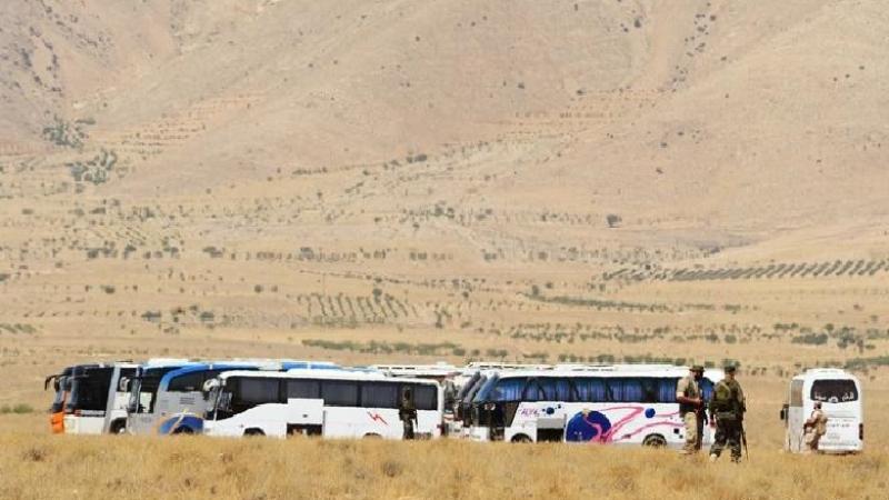 """""""Doğu Kalamun'dan tahliye edilen cihadistler Efrin'e yerleştiriliyor"""""""