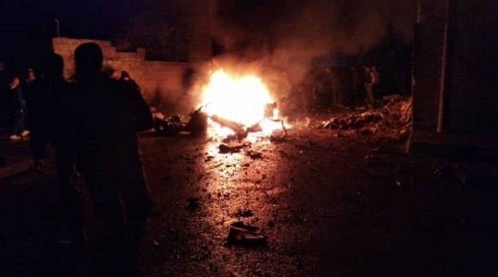 Qamışlo'da mühimmat deposunda patlama