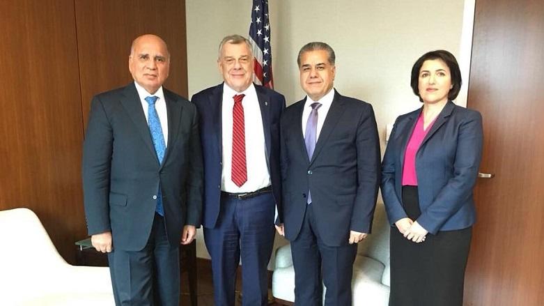 Kürdistan Hükümeti heyeti Washington'da