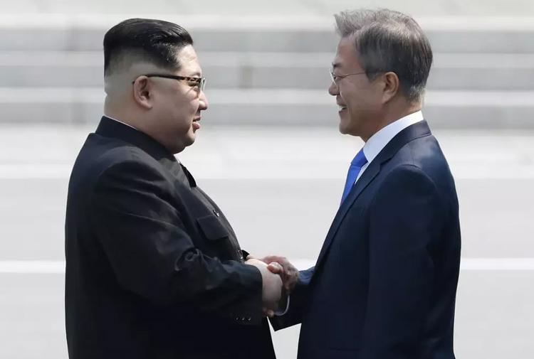 Kuzey Kore ile Güney Kore liderleri ortaklığa imza attı
