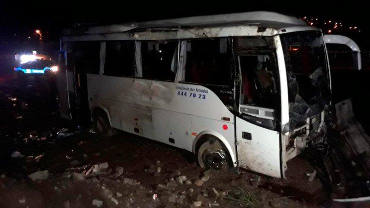 Elazığ-Diyarbakır yolunda kaza: 2'si ağır 30 yaralı