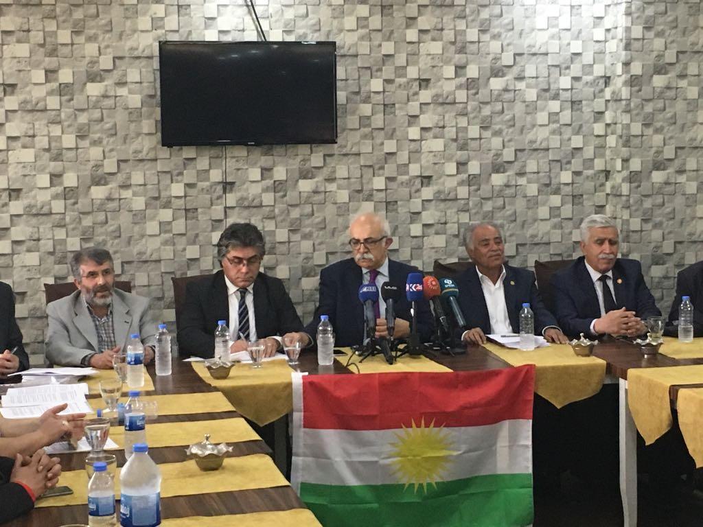 'Kürdistanî Seçim İttifakı' ilan edildi!