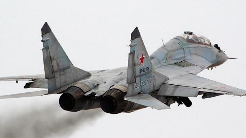 Suriye'de Rus uçağı düştü!