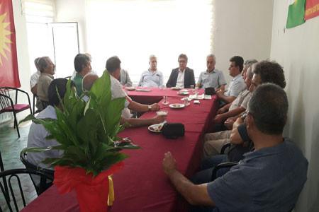 PAK Genel Başkanı Diyarbakır'da PSK'yi Ziyaret Etti