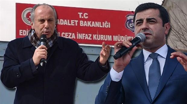 İnce, önce Demirtaş'a sonra Hakkari'ye gidecek