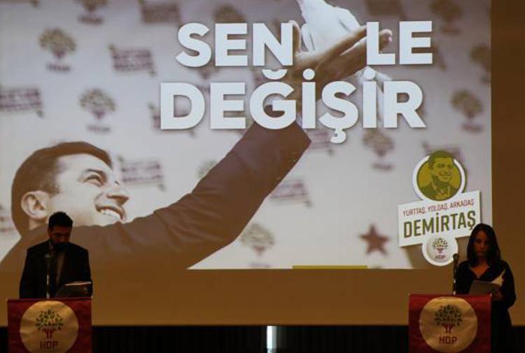 Demirtaş'ın seçim manifestosu açıklandı