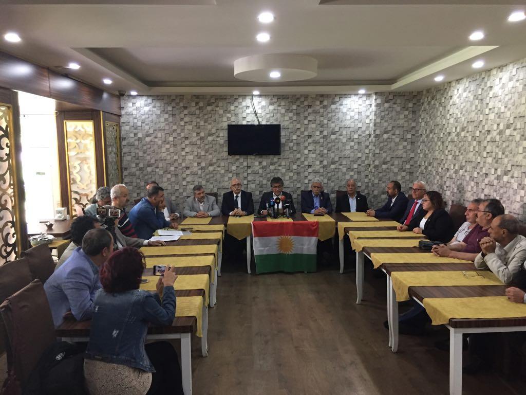 Kürdistani Seçim İttifakı'nın HDP ile seçim ittifakı girişimi sonuçsuz kaldı!