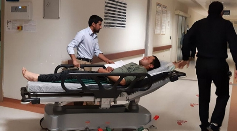 Siirt'te patlama: 2 korucu yaralı
