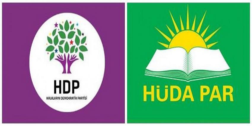 HÜDA PAR'dan HDP'ye ziyaret