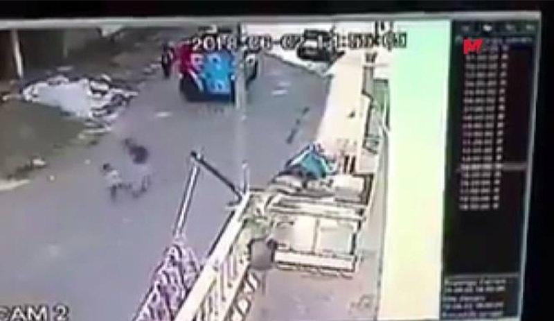 BATMAN/ AKP'den çocuğa şiddet görüntülendi