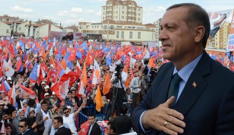 Erdoğan Diyarbakır'da oy istedi