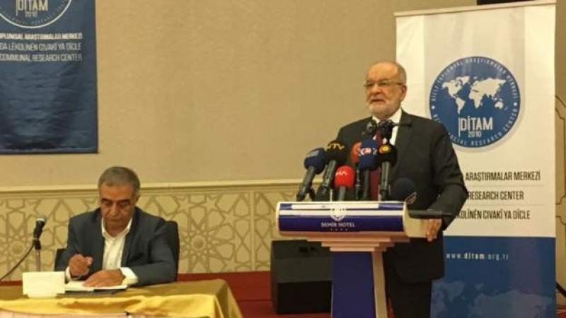 Saadet Partisi Diyarbakır'da Kürt Raporu'nu deklare etti