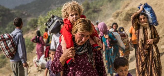 Rapora göre,IŞİD Irak ve Suriye'de Ezidilere soykırım uygulandığı sonucuna vardı.