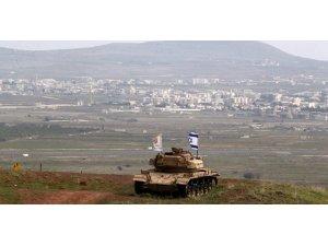 İsrail Suriye'den sınıra yaklaşan İHA'ya füze fırlattı