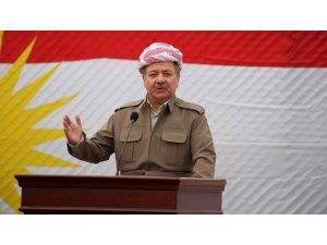Başkan Mesut Barzani'den seçim mesajı: Kürt sorununun çözümüne katkı sunmasını diliyorum