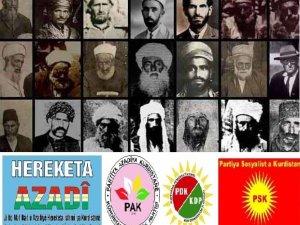 Azadî Hareketi, PAK, PDK ve PSK: Şeyh Said ve arkadaşlarını saygıyla anıyoruz