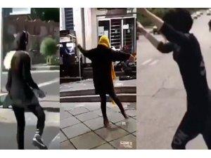 İran'lı kadınlardan  başörtüsüz ve danslı protesto