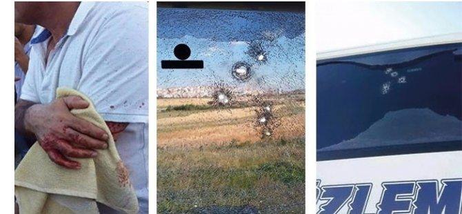 Ankara'dan Diyarbakır'a giden Özlem Diyarbakır otobüsine silahlı saldırı