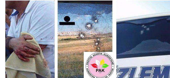 Bu saldırılar Kürt milleti üzerinde toplu bir tehdit mesajını içermektedir