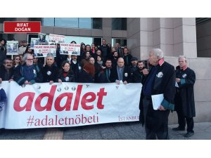Adalet Nöbeti'ne katılan 14 kişiye 'terör' soruşturması