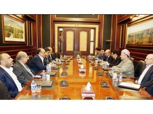 Fetih ve Yasa Devleti'nden Başkan Mesut Barzani'ye ziyaret