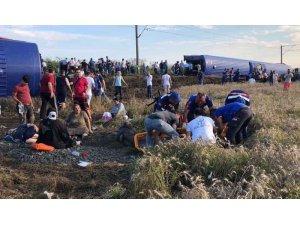 Çorlu'da yolcu treni devrildi: 24 ölü 338 yaralı