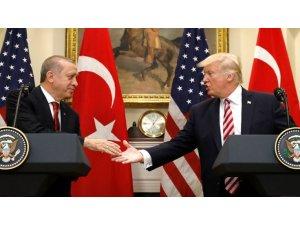 Putin'le görüşme öncesinde Trump ve Erdoğan Suriye'yi görüştü!