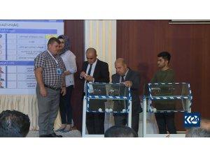 Kürdistan seçimleri için kuralar çekildi