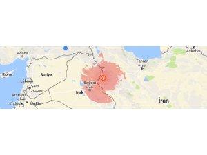 Doğu ve Güney Kürdistan'da 5.9 büyüklüğünde deprem