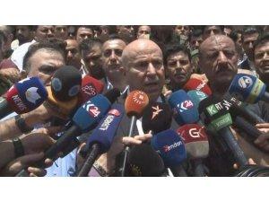 Erbil Valisi'nden saldırı açıklaması