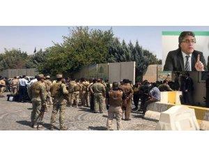 Mustafa Özçelik Erbil saldırısını kınadı