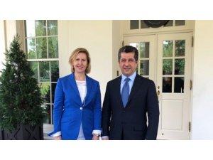Mesrur Barzani'den Beyaz Saray'a ziyaret