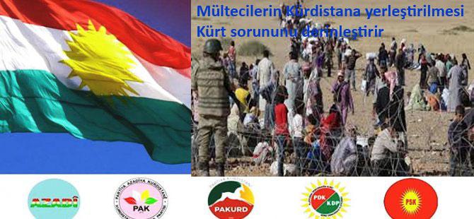 Mültecilerin Kürdistana Yerleştirilmesi Kürd Sorununu Derinleştirir