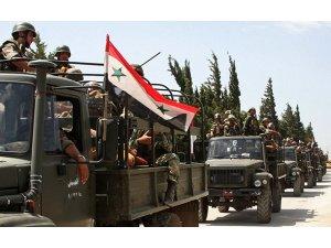 Suriye ordusu İdlip'in güneyini vurmaya başladı