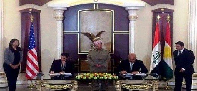 ABD ile Kürdistan arasında resmi protokol