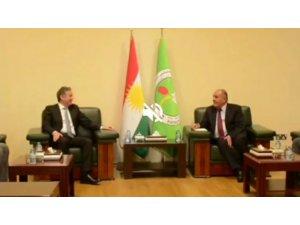 Erbil Türk konsolosu YNK ile biraraya geldi