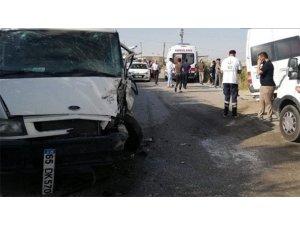Van'da trafik kazası!