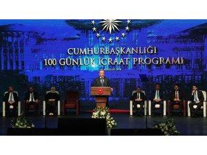 Erdoğan 100 günlük eylem planını açıkladı: Yastık altlarını boşaltın