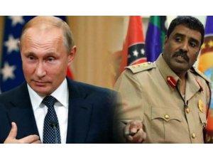 Libya ordusundan Putin'e çağrı: Türkiye'yi çıkarın