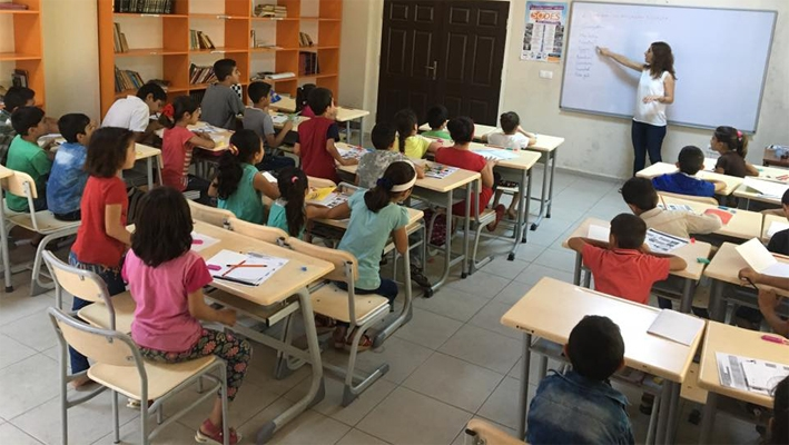 Kızıltepe ÇATOM Merkezinden Suriyeli Kadın ve Çocuklara Türkçe Dil Eğitimi Kursu