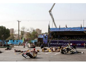 İran'da askeri geçit törenine saldırı: En az 29 ölü!  -VİDEO-