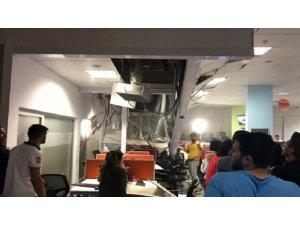 Batman'da tavan çöktü: 8 çalışan yaralı