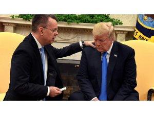 Brunson Beyaz Saray'a konuk oldu